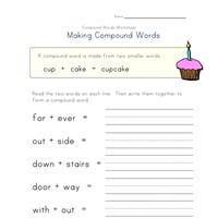 compound words worksheet 2