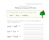 compound words worksheet 4