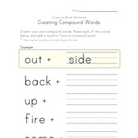 making compound words worksheet 4