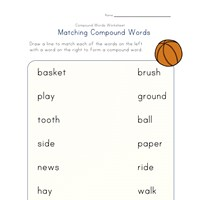 compound words matching 4