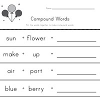 writing compound words worksheet 2