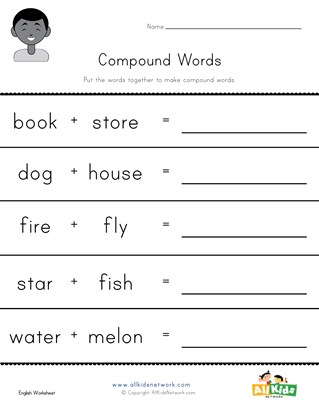 writing compound words worksheet 3