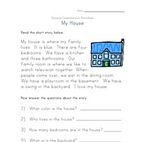 Worksheets Reading Comprehension Worksheets Multiple Choice reading comprehension worksheets all kids network