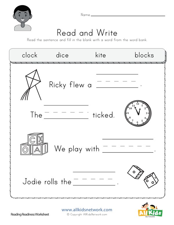 Complete The Sentences Worksheet All Kids Network