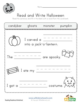 35 Awesome Halloween Worksheets