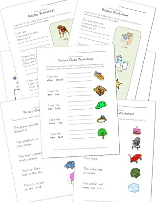 riddle worksheets
