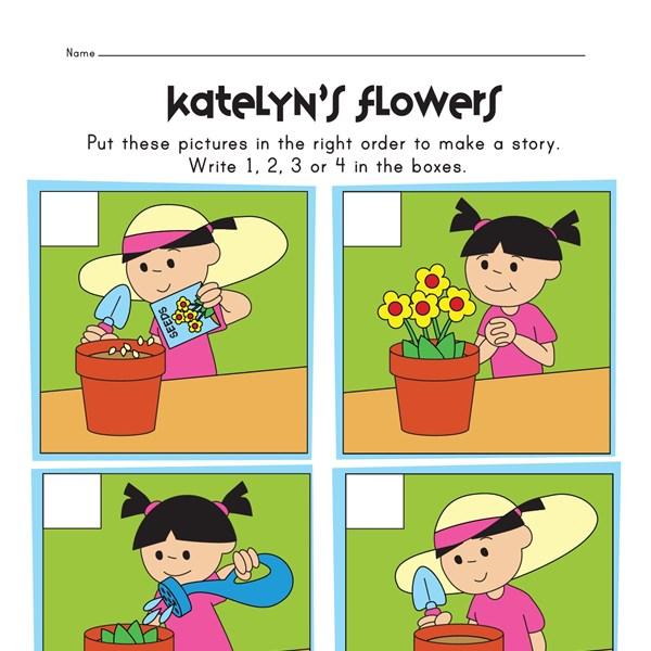 Free Worksheets plant worksheets for 2nd grade : Sequencing Events Grade 1 - sequencing events ...
