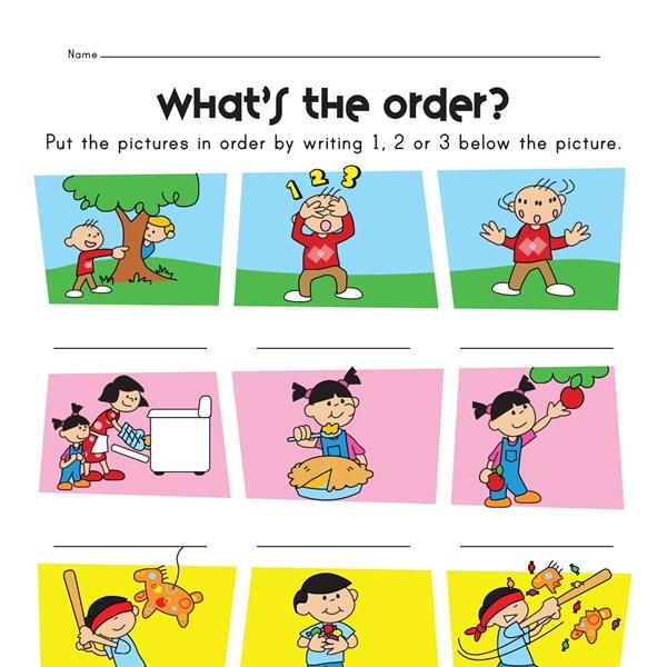 Sequences Worksheets Grade 6 on Summarizing Worksheets 3rd Grade