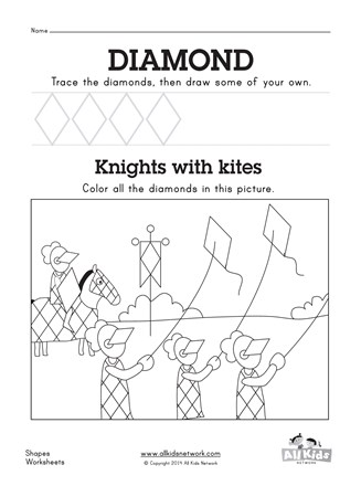 Free Diamond Worksheet