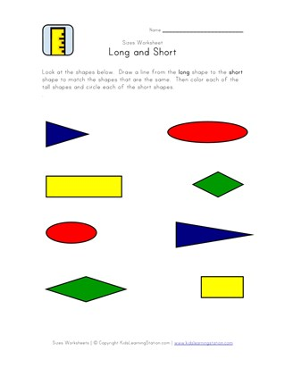 15 Great Free Length Worksheets All Kids Network