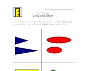 free long and short worksheet