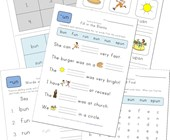 spelling -un words worksheet
