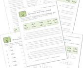 spelling long u words worksheet