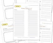 customizable spelling worksheets