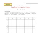 spelling battleship game