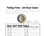 Convert 12 to 24 Hour Clock