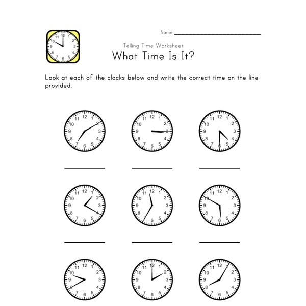 Time To 5 Minutes Worksheets. Precommunity Printables Worksheets