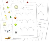 tracing lines worksheets