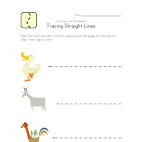 draw lines worksheet