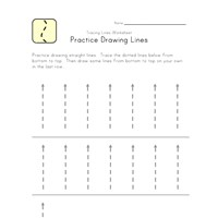 tracing lines worksheet