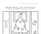 What's Wrong with the Picture - Christmas