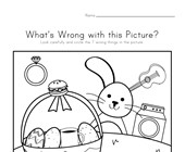 What's Wrong with the Picture - Easter