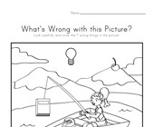 What's Wrong with the Picture - Fishing