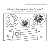 What's Wrong with the Picture - Patriotic