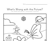 What's Wrong with the Picture - Spring