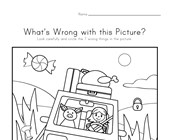 What's Wrong with the Picture - Vacation
