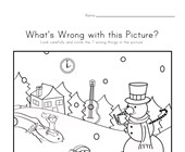 What's Wrong with the Picture - Winter