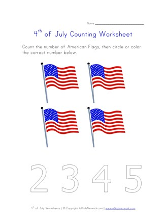 4th of july counting four