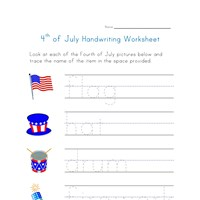 fourth of july worksheet