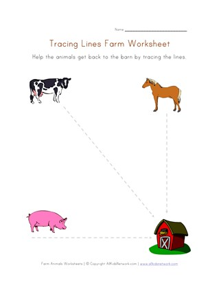 farm writing worksheet