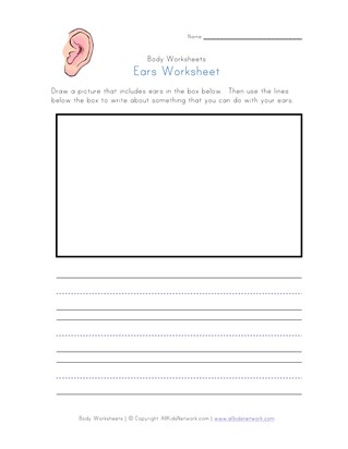 ears worksheet
