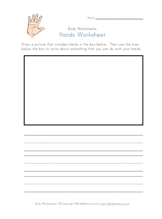 hand worksheet