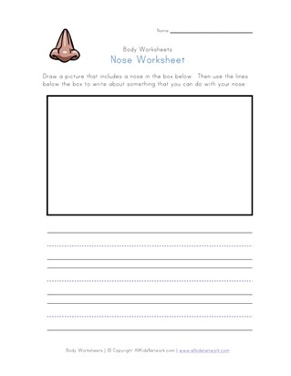 nose worksheet