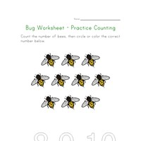 Insect Scramble Worksheet