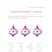 christmas counting to three