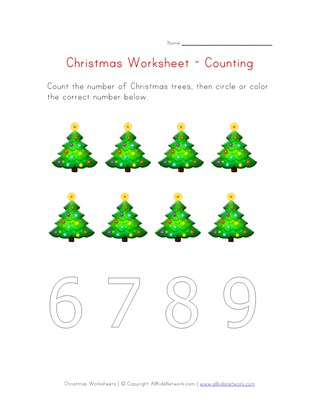 christmas counting to eight