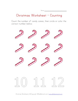 christmas counting to twelve