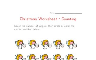 christmas counting to fifteen
