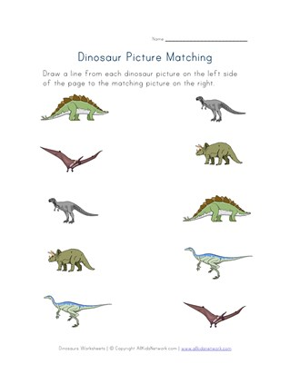 Dinosaurs Worksheets All Kids Network Spiderman Kindergarten Worksheets Dinosaur Kindergarten Worksheets #19