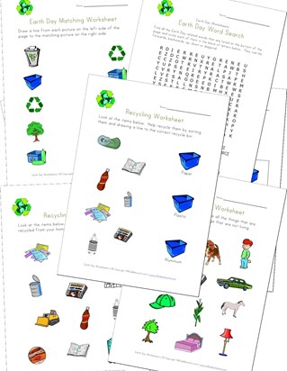 Earth Day Worksheets