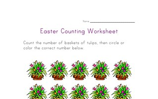 easter counting fifteen