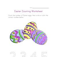 easter counting three