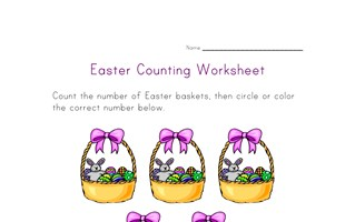 easter counting five