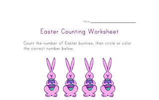 easter counting nine