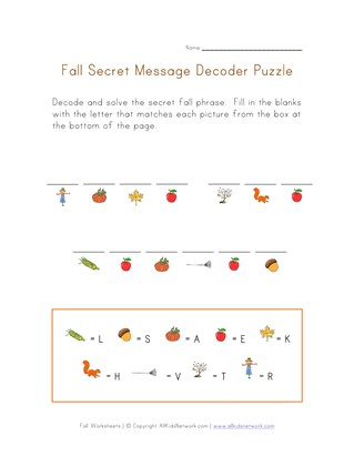 fall worksheets for kids all kids network