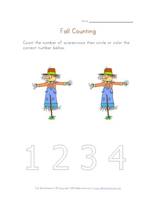 fall counting to two
